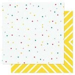 Pink Paislee - Hello Sunshine Collection - 12 x 12 Double Sided Paper - Rainboots