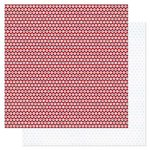 Pink Paislee - Pen Pals Collection - 12 x 12 Double Sided Paper - Chain Letter