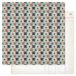 Pink Paislee - Switchboard Collection - 12 x 12 Double Sided Paper - Call Me