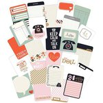 Pink Paislee - Switchboard Collection - 3 x 4 Double Sided Pocket Cards