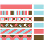 American Craft Elements - Premium Ribbon -  Uptown Coral, CLEARANCE