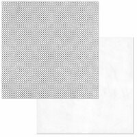 BoBunny - Double Dot Designs Collection - 12 x 12 Double Sided Paper - Sugar Dot
