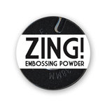 American Crafts - Zing! Collection - Opaque Embossing Powder - Black, CLEARANCE