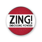 American Crafts - Zing! Collection - Opaque Embossing Powder - Rouge