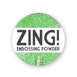 American Crafts - Zing! Collection - Glitter Embossing Powder - Green, CLEARANCE