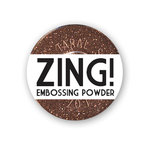 American Crafts - Zing! Collection - Glitter Embossing Powder - Copper, CLEARANCE