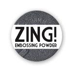 American Crafts - Zing! Collection - Metallic Embossing Powder - Pewter