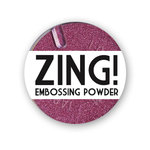 American Crafts - Zing! Collection - Metallic Embossing Powder - Red, CLEARANCE