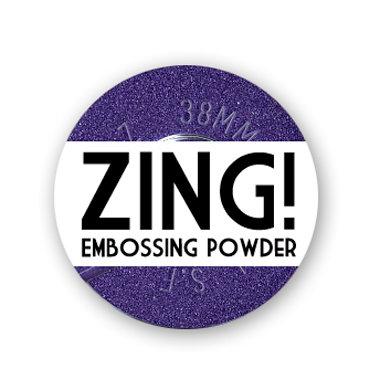 American Crafts - Zing! Collection - Metallic Embossing Powder - Purple