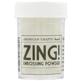 American Crafts - Zing! Collection - Clear Embossing Powder
