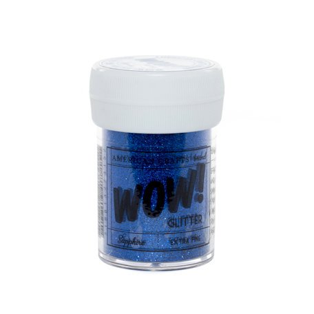 American Crafts - Wow! - Glitter - Extra Fine - Sapphire