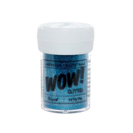 American Crafts - Wow! - Glitter - Extra Fine - Peacock
