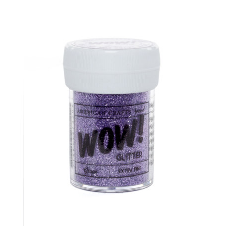 American Crafts - Wow! - Glitter - Extra Fine - Grape