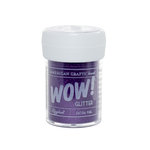 American Crafts - Wow! - Glitter - Extra Fine - Eggplant