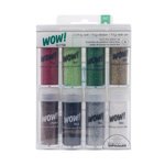 American Crafts - Christmas - Wow! - Glitter - Extra Fine - Christmas - 8 Pack