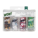 American Crafts - Christmas - Wow! - Glitter Shapes