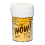 American Crafts - Wow! Iridescent Glitter - Extra Fine - Sunflower