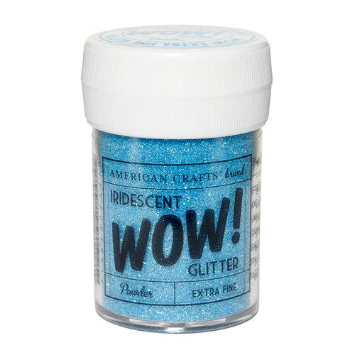 American Crafts - Wow! Iridescent Glitter - Extra Fine - Powder