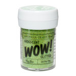 American Crafts - Wow! Iridescent Glitter - Extra Fine - Key Lime