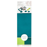 K and Company - Paper Strip Pack - Double Sided - Sage Pine - 24 Sheets