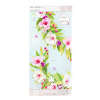 K and Company - Paper Crafting Kit - Pastel Floral Garland
