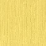 Bazzill Basics - 12 x 12 Mono Adhesive Cardstock - Lemonade