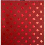 Bazzill Basics - 12 x 12 Cardstock - Foil Tone On Tone - Wax Lips