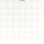 Bazzill Basics - 12 x 12 Plaid Cardstock - Marshmallow