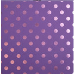 Bazzill Basics - 12 x 12 Cardstock - Foil Tone On Tone - Gummy Bear
