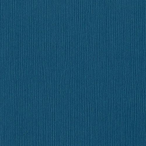Bazzill Basics - 12 x 12 Mono Adhesive Cardstock - Blue Calypso