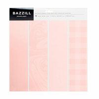 Bazzill Basics - 12 x 12 Cardstock Pack - Rose Quartz - 12 Pack
