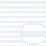 Bazzill Basics - 12 x 12 Acetate Paper - Stripes - White