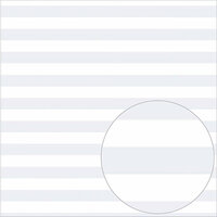 Bazzill Basics - 12 x 12 Acetate Paper - Stripes - White