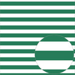 Bazzill Basics - 12 x 12 Acetate Paper - Stripes - Bazzill Green