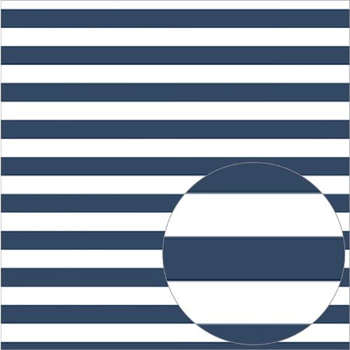 Bazzill Basics - 12 x 12 Acetate Paper - Stripes - Admiral