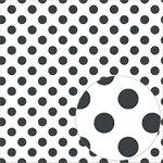 Bazzill Basics - 12 x 12 Acetate Paper - Dots - Raven