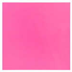 Bazzill Basics - 12 x 12 Plastic Embossing Paper - Pink Kiss