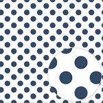Bazzill Basics - 12 x 12 Acetate Paper - Dots - Admiral
