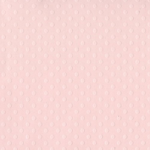 Bazzill Basics - 12 x 12 Cardstock - Dotted Swiss - Soft Shell