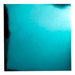 Bazzill Basics - 12 x 12 Foil Board - Teal