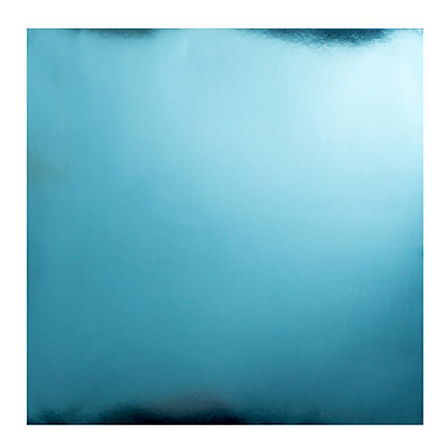 Bazzill Basics - 12 x 12 Foil Board - Baby Blue