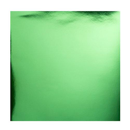 Bazzill Basics - 12 x 12 Foil Board - Green