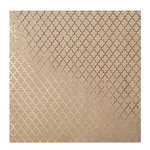 Bazzill Basics - 12 x 12 Kraft Paper With Foil Accents - Lattice