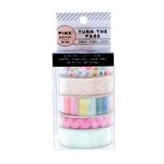 Pink Paislee - Turn The Page Collection - Printed Ribbon Set