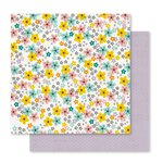 Pink Paislee - Memorandum Collection - 12 x 12 Double Sided Paper - Showroom