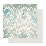 Pink Paislee - Memorandum Collection - 12 x 12 Double Sided Paper - Desktop