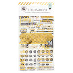 Pink Paislee - Memorandum Collection - Sticker Book with Foil Accents