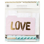 Pink Paislee - Memorandum Collection - File Folders - 6 x 4