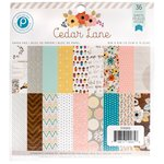 Pink Paislee - Cedar Lane Collection - 6 x 6 Paper Pad