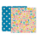 Pink Paislee - Wild Child Collection - 12 x 12 Double Sided Paper - Paper 3